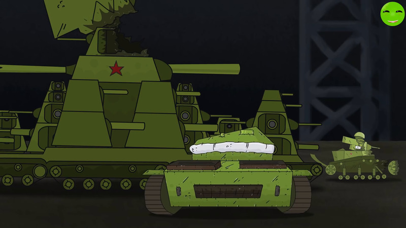 Hot fight Cartoons about tanks