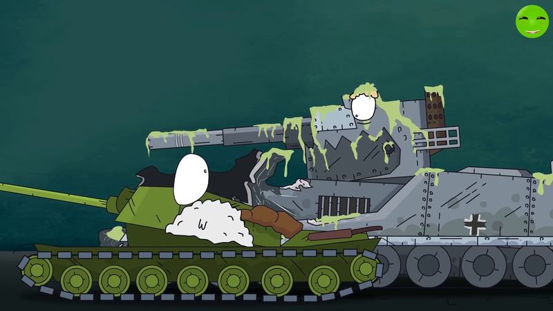 All series Symbiotic monsters Venom and Carnage - Cartoons about tanks