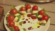 Рецепт Капрезе на шпажках